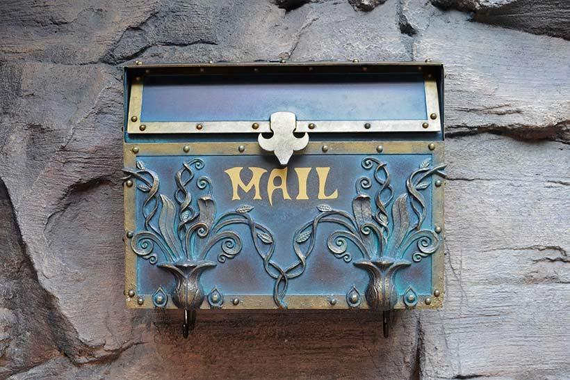 マーメイドラグーンのメールボックス