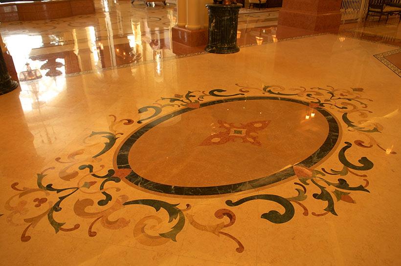 東京ディズニーランドホテルの床面の画像