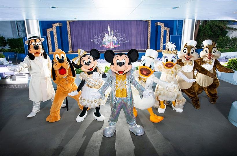 ミッキーとディズニーの仲間たちの画像