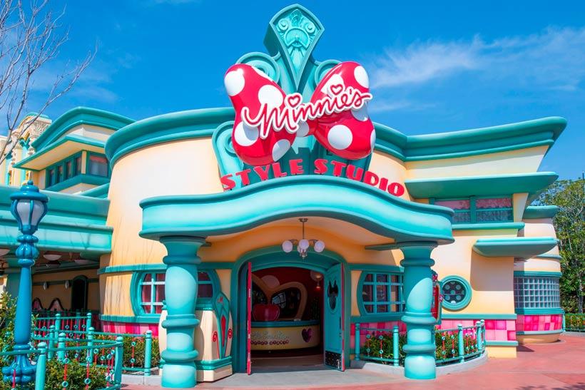 キャラクターグリーティング施設「ミニーのスタイルスタジオ」外観画像