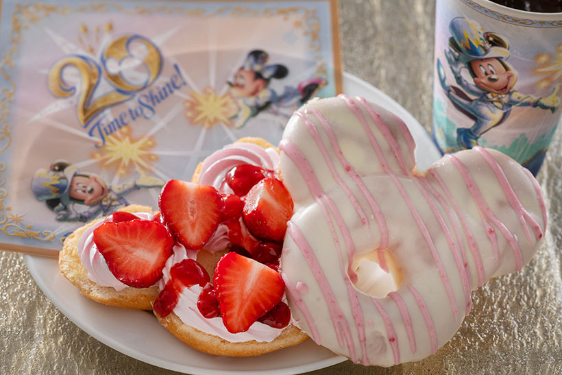 ストロベリードーナツの画像