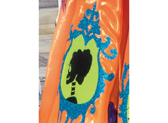 ミニーのスカートにある、あやしげな模様の画像