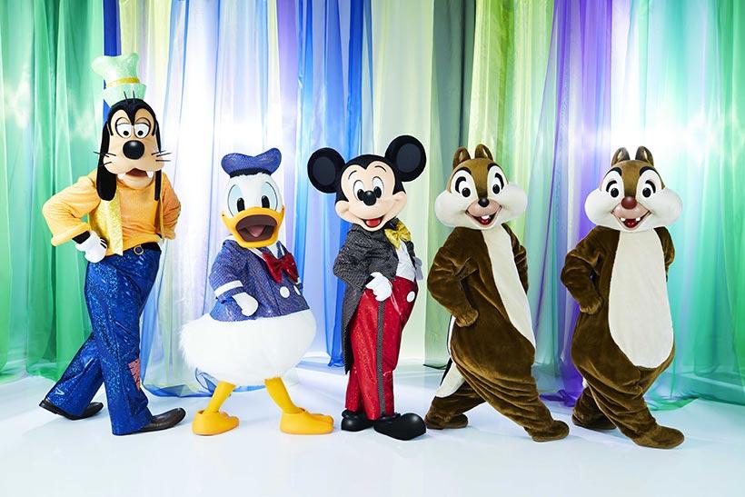 ミッキーマウスやディズニーの仲間たち'がテーマの作品のイメージ画像