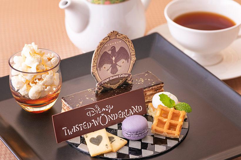 「ディズニー ツイステッドワンダーランド」スペシャルケーキセットの画像