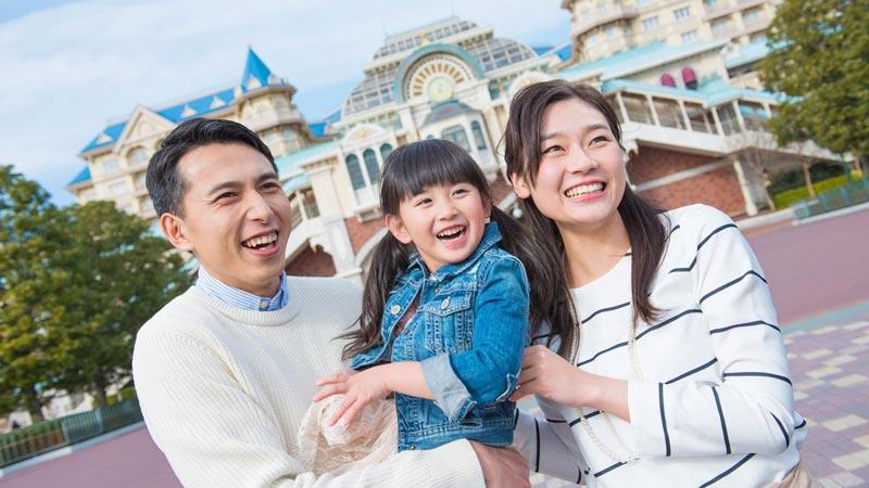 """Paket Liburan"" yaitu paket menginap resmi Tokyo Disney Resort のイメージ"