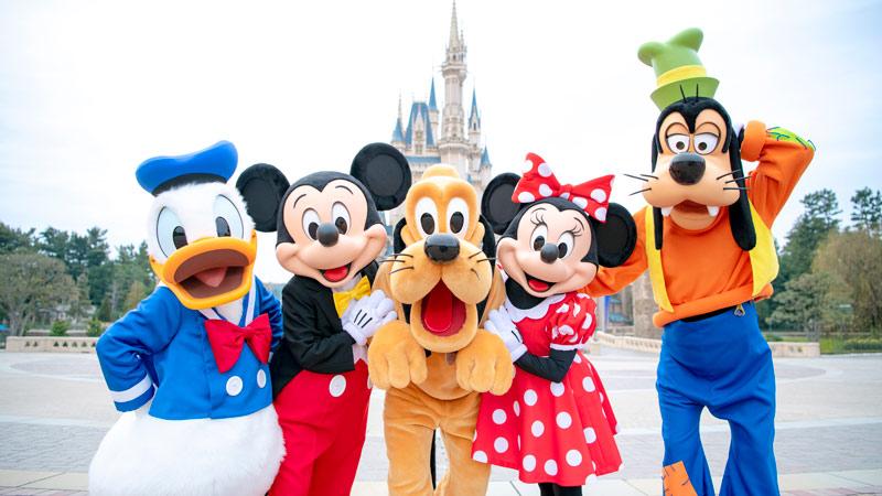 全景欣赏!东京迪士尼乐园&东京迪士尼海洋 20项推荐游乐设施のイメージ