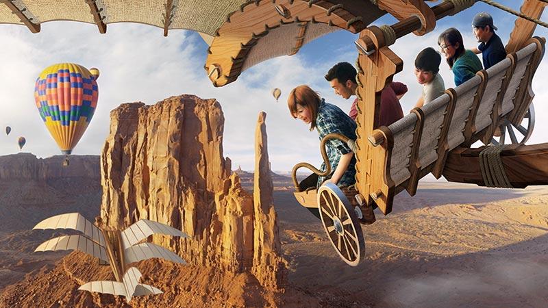 ディズニーホテルに宿泊すると抽選で新アトラクションのプレビューにご招待!のイメージ