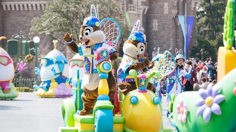 2つのパークの「ディズニー・イースター」を満喫する 2DAYSのイメージ