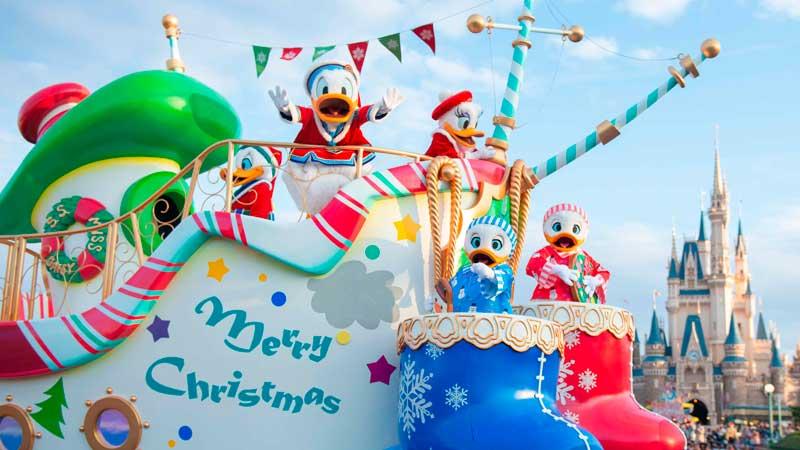 2つのパークの「ディズニー・クリスマス」を満喫する 2DAYSのイメージ