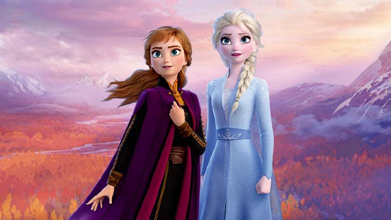 映画『アナと雪の女王2』公開を記念したグッズやメニューのイメージ