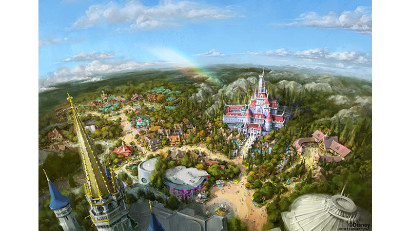 東京ディズニーランドの新施設オープンを記念したディズニーホテルのプログラムのイメージ