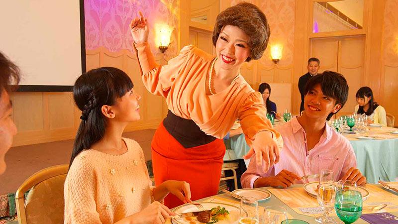 ディズニーアンバサダーホテルで楽しくテーブルマナーを学んでみませんか?のイメージ