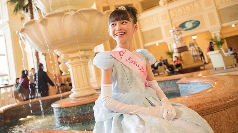 Dress up as your favorite princess at the Bibbidi Bobbidi Boutiqueのイメージ