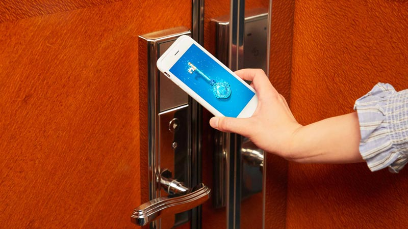 お手持ちのスマートフォンでチェックインの手続きがスムーズに!のイメージ