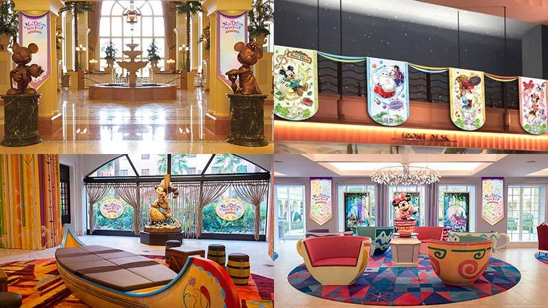 도쿄디즈니랜드의 신규 시설 오픈을 기념한 디즈니호텔의 프로그램のイメージ