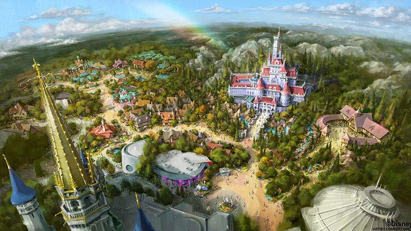 東京ディズニーランドの2つのNEWアトラクションを楽しめる!のイメージ