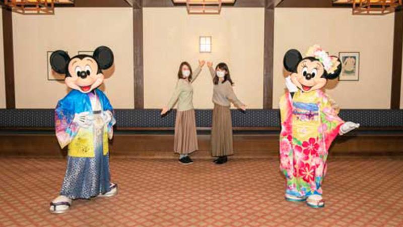 東京ディズニーリゾートで特別なお正月を過ごせる!のイメージ