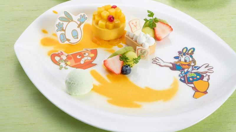 東京ディズニーランドホテル イースターのメニューのイメージ