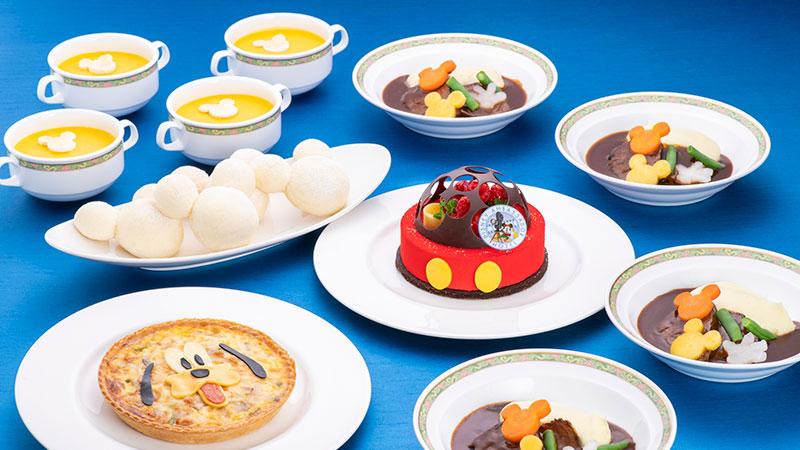 ~ディズニーホテルのお食事をご家庭でも~ディズニーアンバサダーホテル・ホームパーティーセットのイメージ