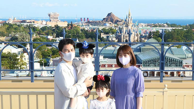 東京ディズニーランドホテル フォトツアー付き宿泊プランのイメージ
