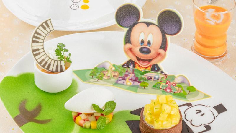 東京ディズニーランドホテル 夏の限定メニューのイメージ