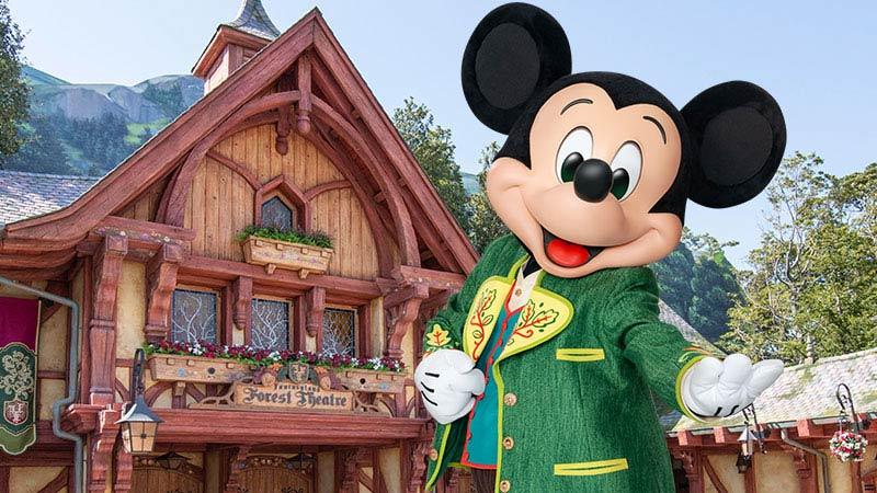 「ミッキーのマジカルミュージックワールド」音楽を探す旅へ!のイメージ