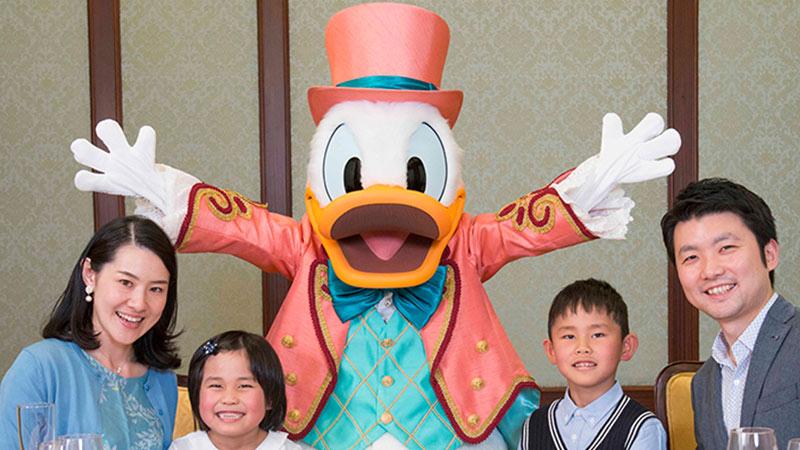 (2022年4月から)東京ディズニーランドホテル セレブレーションダイニング&グリーティングプランのイメージ