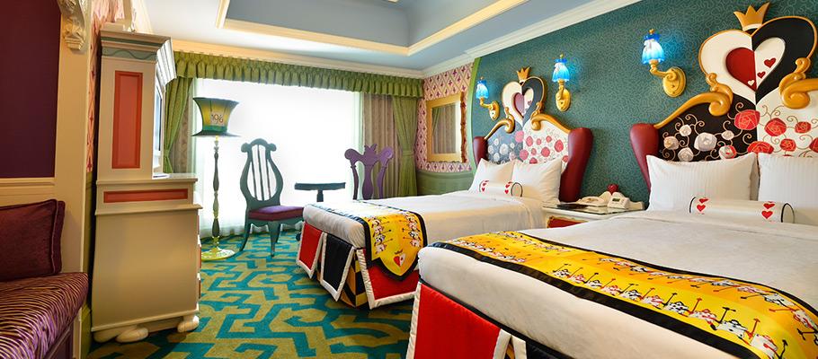 迪士尼爱丽丝梦游仙境客房的图像1
