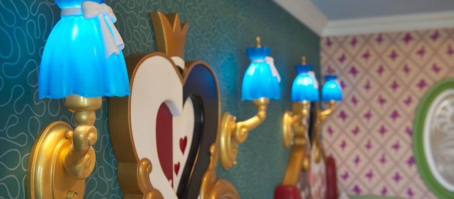 迪士尼爱丽丝梦游仙境客房的图像3
