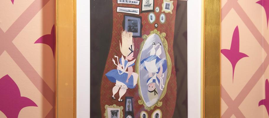 迪士尼爱丽丝梦游仙境客房的图像5