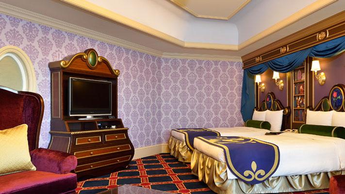 迪士尼美女与野兽客房的图像