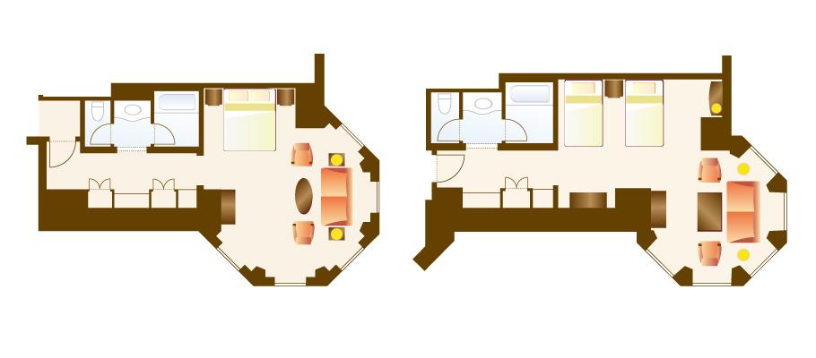 image of Turret Roomのレイアウト1