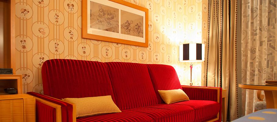 ミニーマウスルームのイメージ2