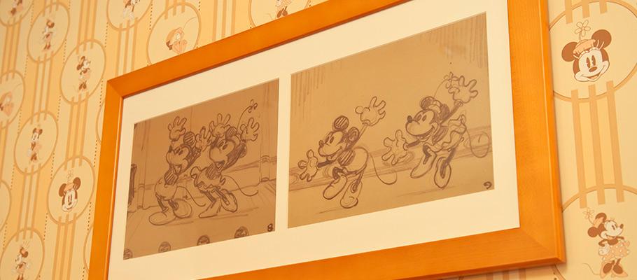 ミニーマウスルームのイメージ3