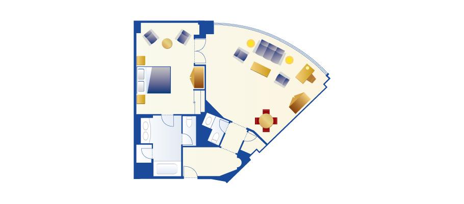 image of Panorama Suiteのレイアウト1