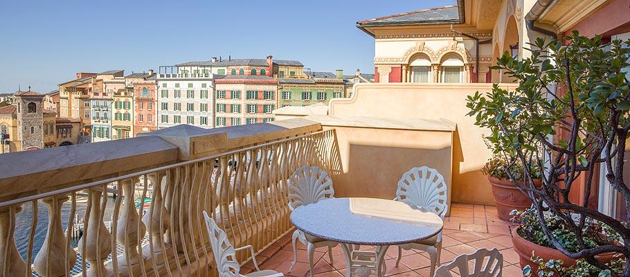 顶楼阳台客房(港湾景观)的图像2