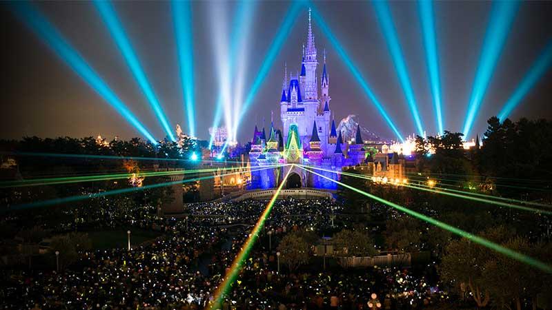 image of New Year's Eve at Tokyo Disneyland and Tokyo DisneySea