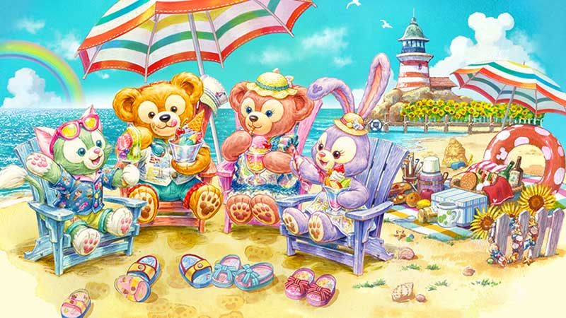 "image of Special Program at Tokyo DisneySea ""Duffy's Sunny Fun"""