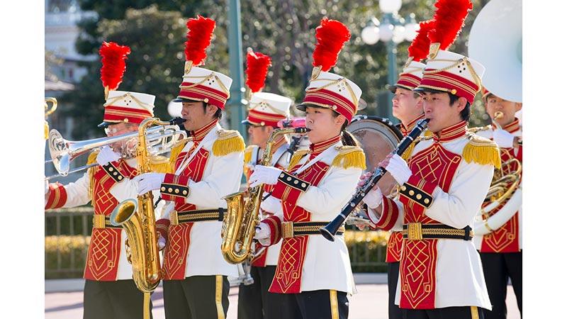 """gambar Seni Hiburan Terbuka """"Tokyo Disneyland Band""""1"""