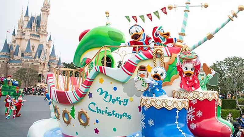 """特别活动""""迪士尼圣诞节""""的图像"""