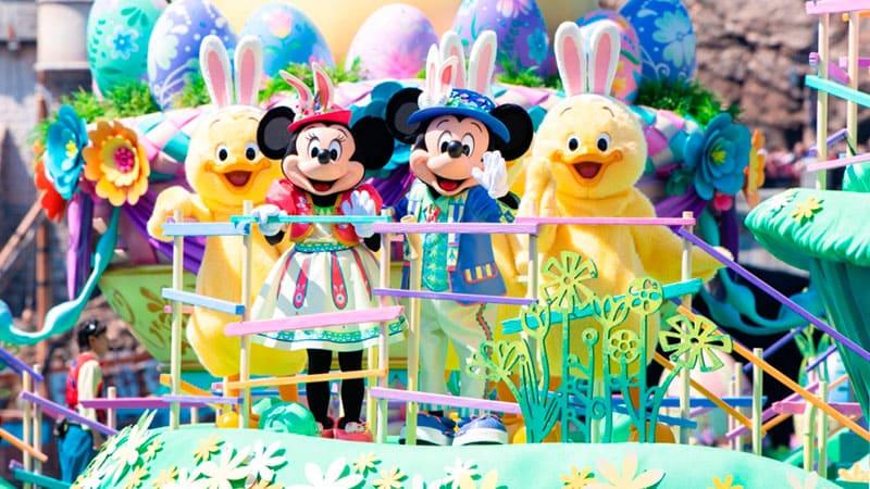 迪士尼復活節的圖像