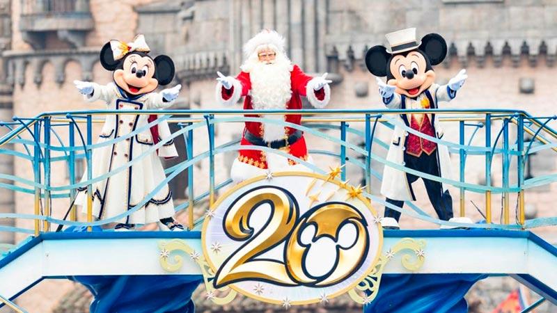 東京ディズニーシーのクリスマスのイメージ