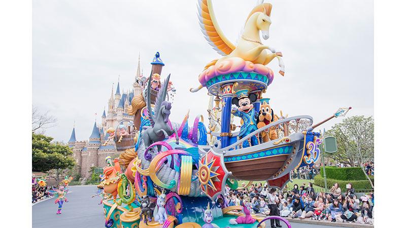 東京迪士尼度假區 35 週年慶「Happiest Celebration!」壓軸活動的圖像1