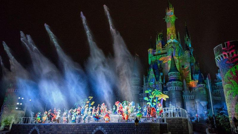ディズニー夏祭りのイメージ