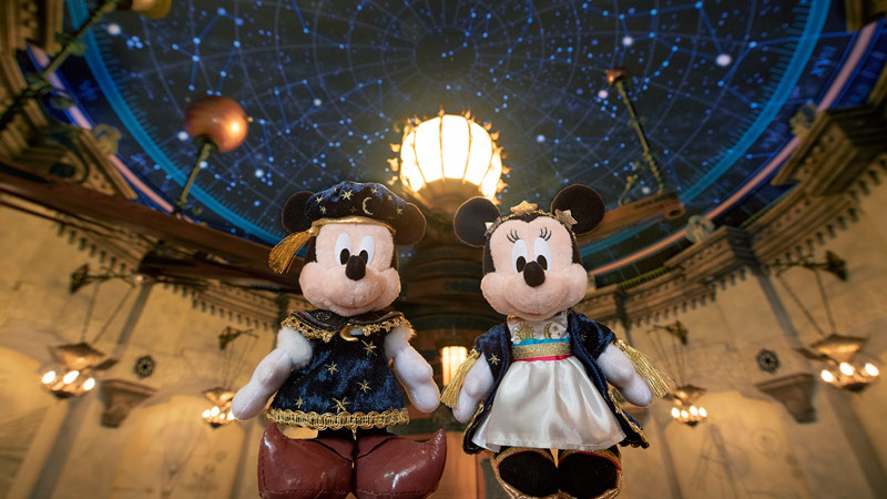 東京ディズニーシー18周年を記念したグッズのイメージ