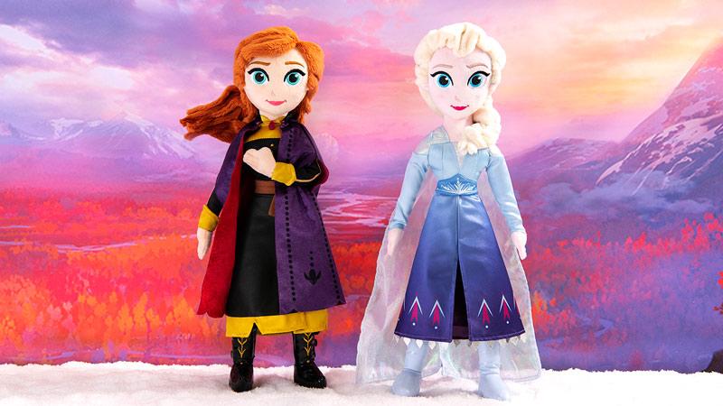 『アナと雪の女王2』の公開記念グッズのイメージ