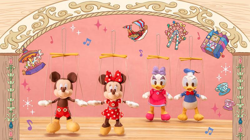 東京ディズニーランド 37周年をお祝いするグッズのイメージ