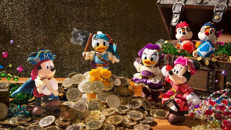 臨時休園に伴い中止となったスペシャルイベント「ディズニー・パイレーツ・サマー」のグッズのイメージ