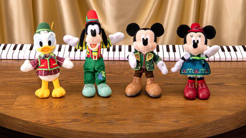 音楽を探す旅に出かけよう!<Br> 「ミッキーのマジカルミュージックワールド」をモチーフにしたグッズのイメージ