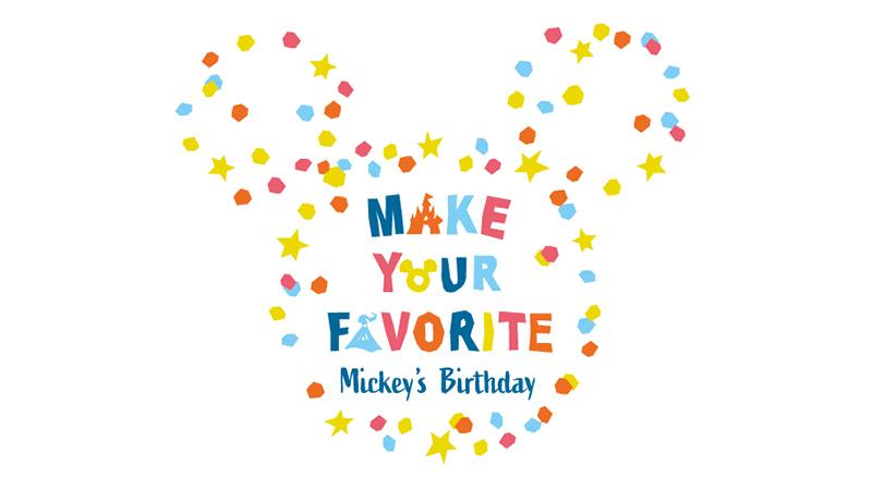 みんなの投票で、ミッキーの誕生日を記念したグッズを作ろう!のイメージ